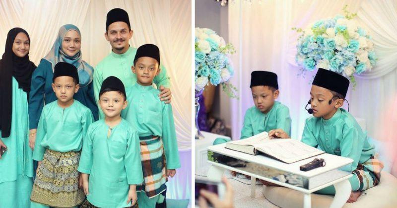 Anak Sulung Selamat Khatam Al-Quran, Pesanan Aidid Marcello Buat Hati Tersentuh