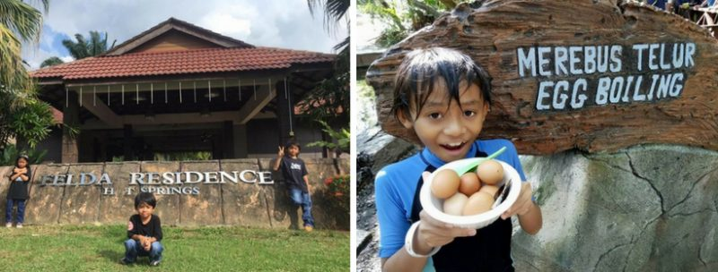 Telur Rebus Je Pun, Tapi Blogger Ni Kata Best Betul Makan Angin Kat Felda Residence Hot Spring Sungkai Perak