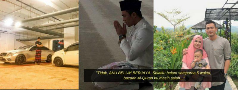 Dari Kereta Viva Kini Pandu Mercedez, Saharul Ridzwan Tak Anggap Itu Kejayaan Selagi Solat Belum Sempurna, Bacaan Al-Quran Masih Salah