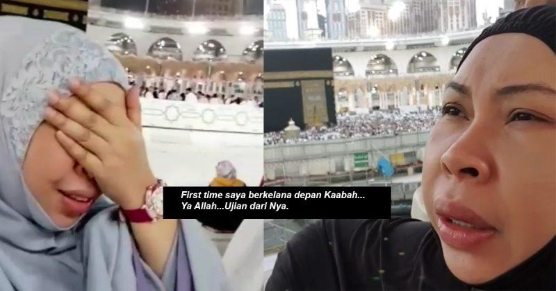 Dugaan Ketika Sujud Depan Kaabah,  Dato'Seri Vida Menangis Terasa Kerdil Selepas Hilang Kawan