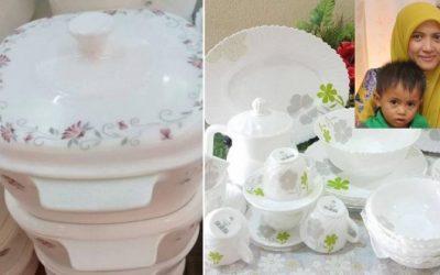Orang Baru Kahwin Elok Beli Pinggan Mangkuk Putih Untuk Set Permulaan, Peniaga Online Ini Kongsi Tip Beli Perkakas Dapur