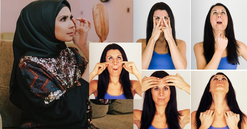 6 Jenis Senaman Wajah Ini Kalau Amalkan Boleh Buat Wanita Nampak Lebih Muda, 2 Minggu Dah Boleh Tengok Kesannya