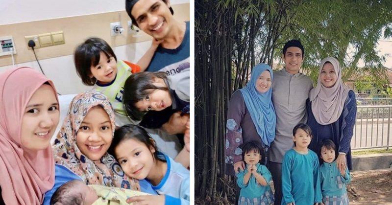 Isteri Kedua Selamat Bersalin Bayi Perempuan, Ashraf Muslim Timang Anak Keempat
