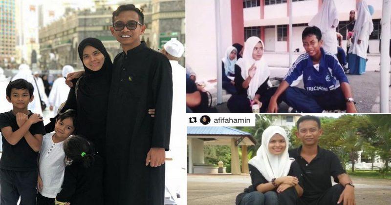 'Inilah Awek Yang Aku Adjust Dari Form 1, Kini Dah Beranak 3!' Salute Betul Kisah Cinta Ajak Shiro & Isteri