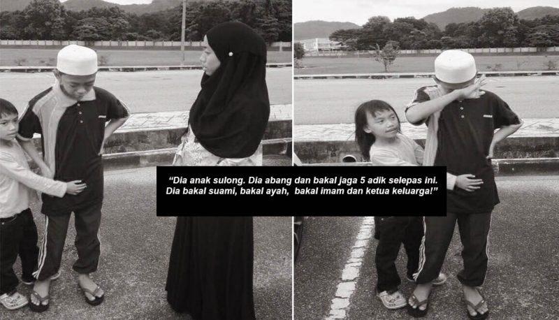 Jangan Nangis, Belajar Agama Tak Boleh Nangis! Cara Ibu Ini Didik Anak Lelaki Dalami Agama Nampak 'Keras' Tapi Wajar Dipuji