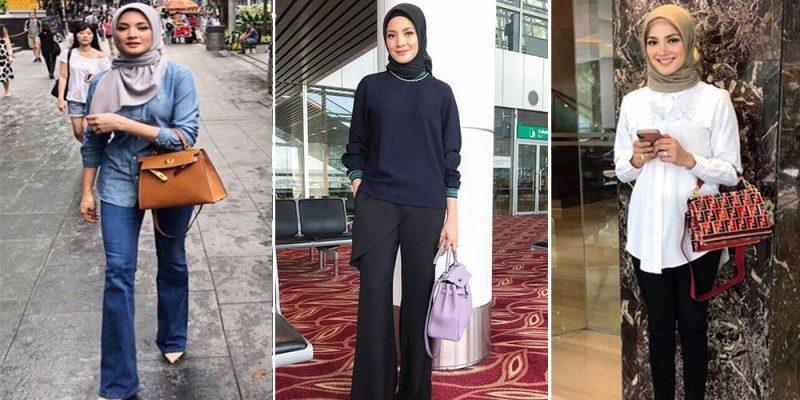 Gaya Hijab Ramadan Fazura, Ringkas Tapi Manis Sangat. 'Moga Istiqamah' Doa Dari Netizen