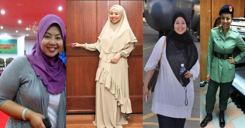 Datuk Nurul 'Belanja' Gambar Waktu Berat Badan Cecah 100kg. Rahsia Kurus? Training Dengan Tentera!