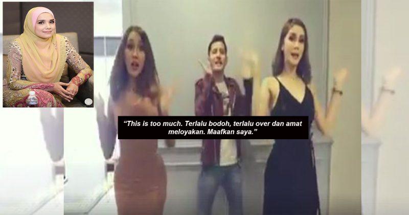 """""""Di Hari-Hari Paling Mulia Bagi Umat Islam, Tersebarnya Video Begini… This Is Too Much!"""" – Wardina Safiyyah"""
