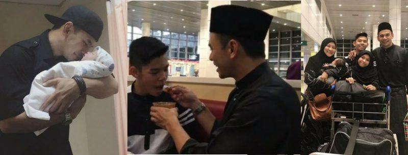 Video Norman & Abby Sambut Anak Di Airport Bikin Netizen Sebak. Kegembiraan Berganda Buat Norman Bila Memey Selamat Bersalin
