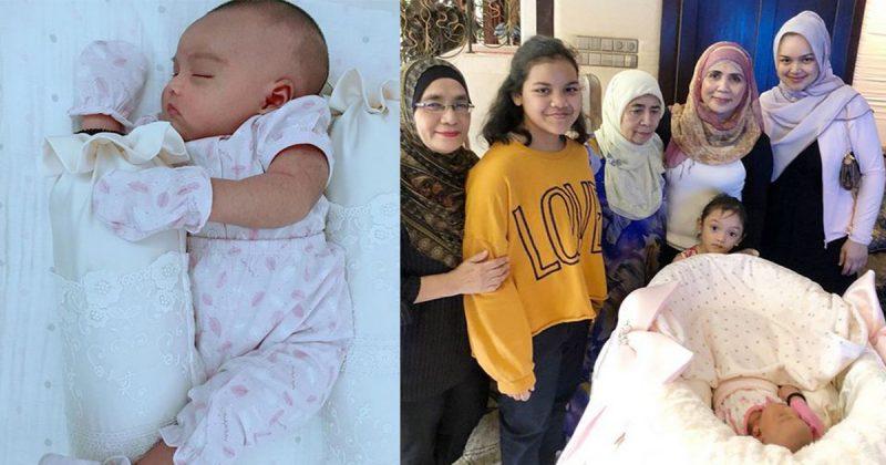 """""""Indahnya Ukhuwah…"""" Netizen Terharu Lihat Tengku Zawyah Melawat Siti Aafiyah"""