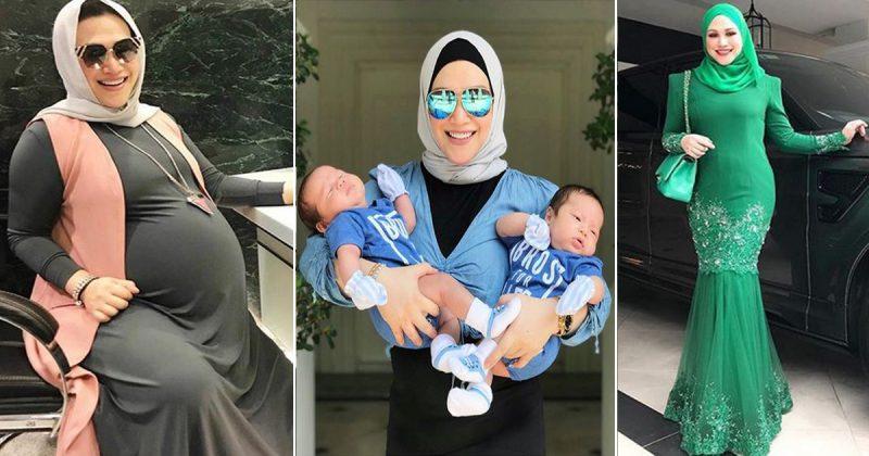 Baru 2 Bulan Bersalin, Zizie Izette Dah kembali Langsing & Ramping Macam Anak Dara. Ramai Kagum & Minta Kongsi Tip