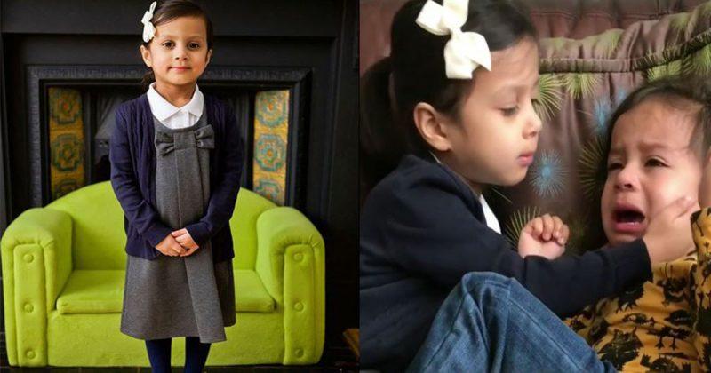 Fatimah Dah Masuk Sekolah, Lihat Reaksi Ali Bila Terpaksa Berpisah Beberapa Jam Dengan Kakaknya!