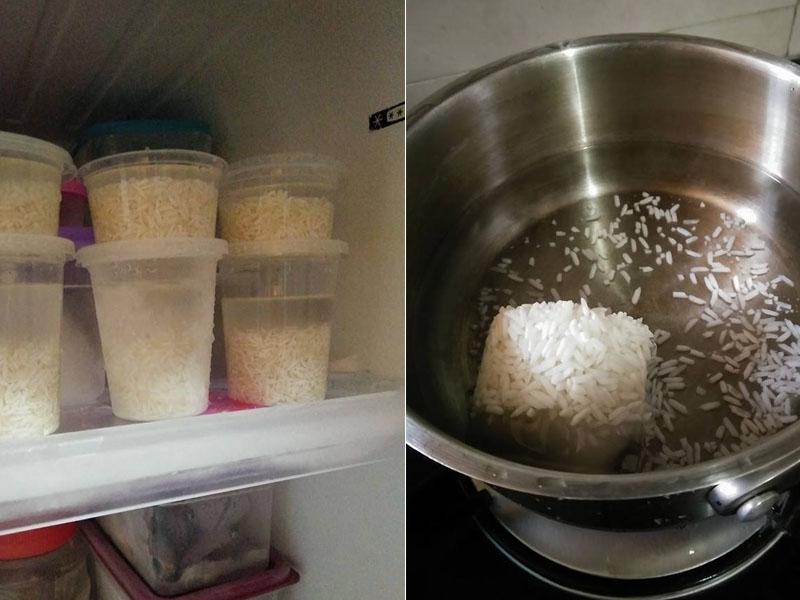 Wanita Ini Kongsi Cara Paling Pantas Masak Bubur Nasi Bayi, 7 Minit Dah Siap!