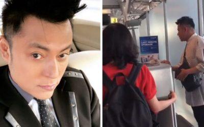 Datuk Aznil Tak Berjaya Bantu Lelaki Tua Check In Di Lapangan Terbang, Respon MAS Sangat Dihargai