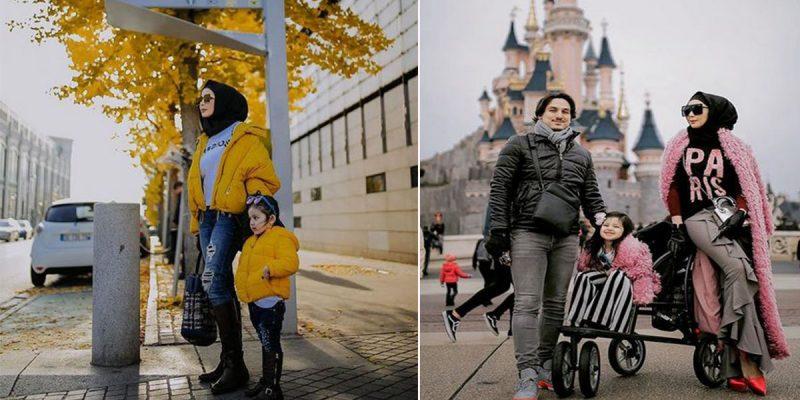 Foto Percutian Rozita Che Wan Di Paris, Trip Hadiah Hari Jadi Untuk Aisyah