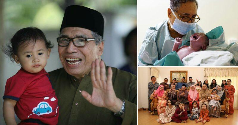 Jadi Bidan Kepada Menantu, Dr. Hamid Arshat Sambut Sendiri 8 Kelahiran Cucu