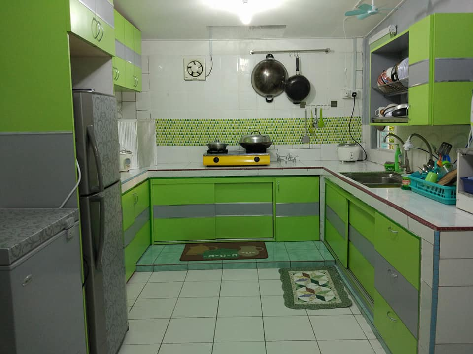 Perlahan Lahan Kayuh 2 Bulan Untuk Bina Dapur Kampung Ni Nampak