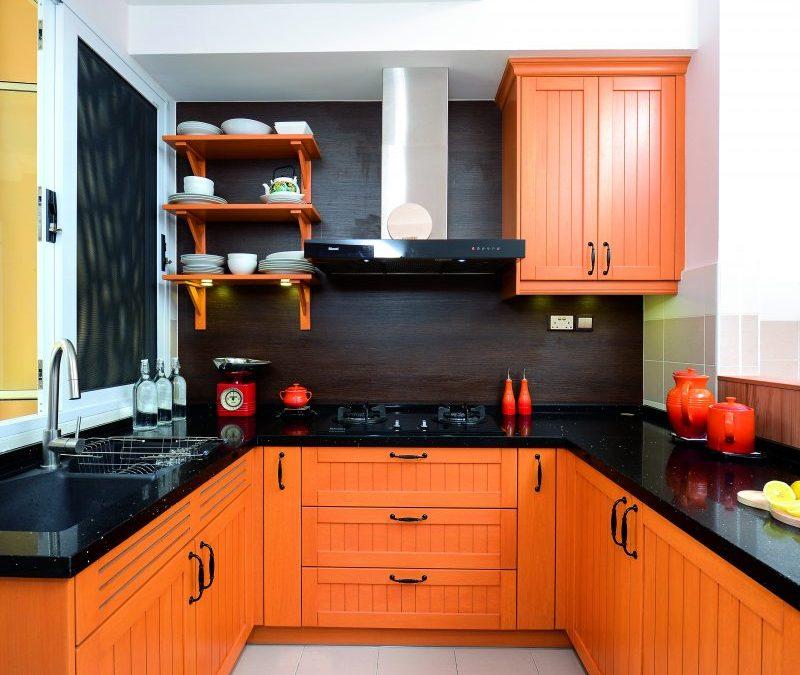 (GAMBAR) Pilihan Warna Dan Susunan Bijak Untuk Dapur