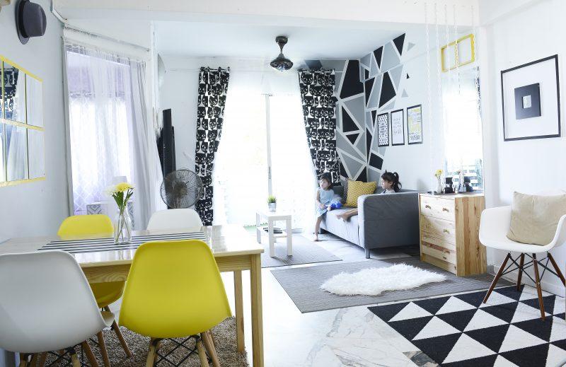 Wanita Ini Deko Rumah Konsep Scandinavian Tanpa Perlu Perabot Atau