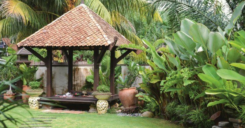 (GAMBAR) Laman Tradisional Rumah Teres Paling Ringkas Dan Kemas DI DUNIA