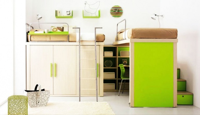 Childrens bedroom sets for small rooms toddler bedroom sets contemporary bedroom design small - Bunk bed for small spaces set ...