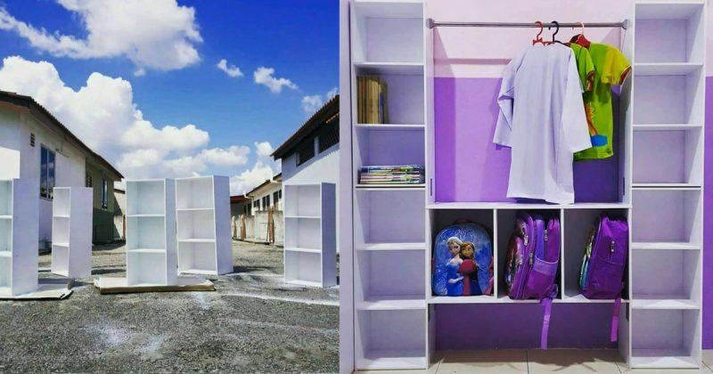 Tempat Simpan Baju Dan Keperluan Sekolah Anak Dari Rak Rm 9 99 Impiana