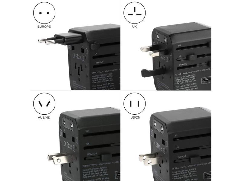 5 Universal Travel Socket Adapter Pilihan Libur Yang Anda Boleh Dapatkan Secara Online Libur