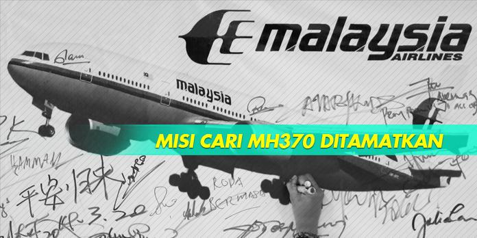MISI CARI MH370 DITAMATKAN