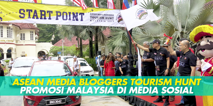 ASEAN MEDIA BLOGGERS TOURISM HUNT promosi Malaysia di media sosial