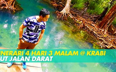 ITINERARI 4 HARI 3 MALAM @ KRABI IKUT JALAN DARAT