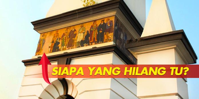 SIAPA DALAM LUKISAN 'HILANG' DI MENARA JAM MEMORIAL JWW BIRCH, IPOH?