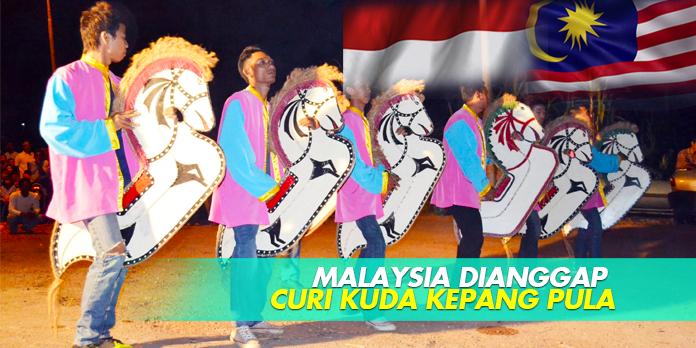 MALAYSIA DIANGGAP CURI KUDA KEPANG PULA
