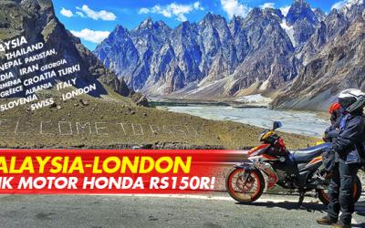 MALAYSIA-LONDON NAIK MOTOR HONDA RS150R