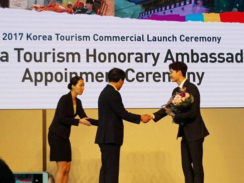 Lee Jong Suk Duta Baharu Pelancongan Korea