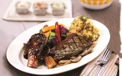 Menu Grilled to Perfection  di  Tony Roma's