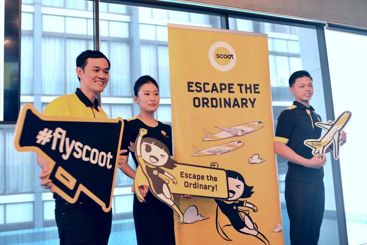 Syarikat Penerbangan Kos Rendah Terbaik Asia/Pasifik mulakan perkhidmatan dari Singapura ke destinasi sulungnya di Malaysia Timur