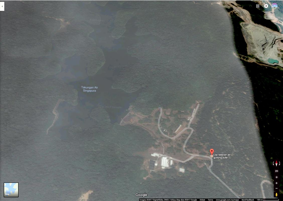 Empangan Pulai & Loji Air Gunung Pulai